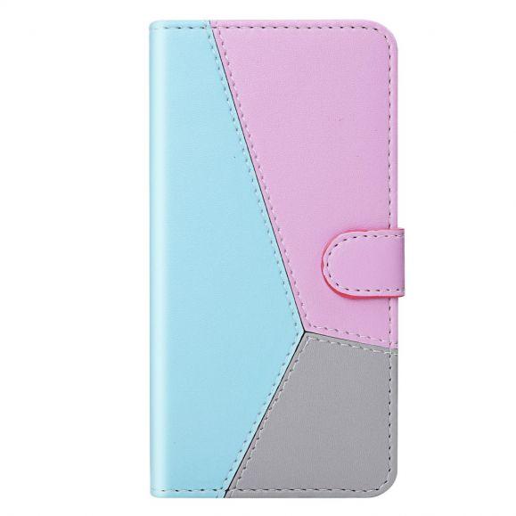 Housse Samsung Galaxy A52 4G / 5G Simili Cuir Tricolore