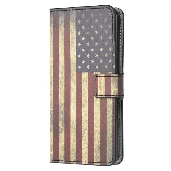Housse Samsung Galaxy A52 5G / A52 4G Drapeau Américain Vintage