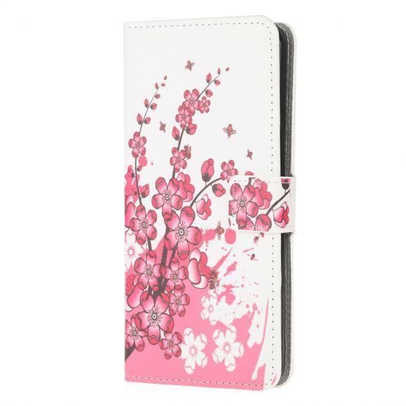 Housse Samsung Galaxy A52 5G / A52 4G Abricotier du Japon