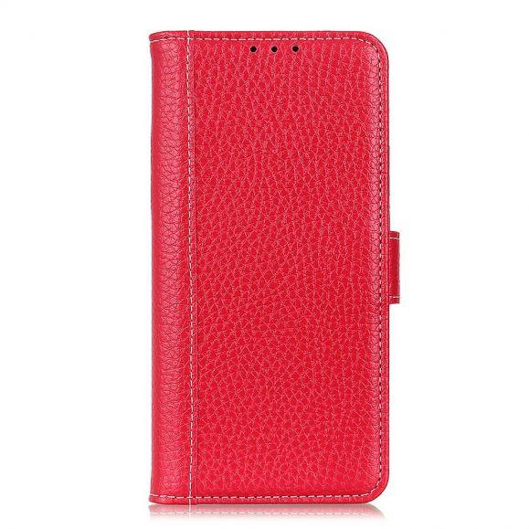 Housse Samsung Galaxy A52 5G / A52 4G style cuir effet peau de litchi