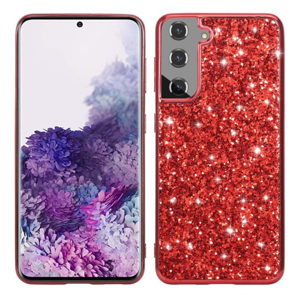 Coque Samsung Galaxy S21 Plus 5G Paillettes Glamour