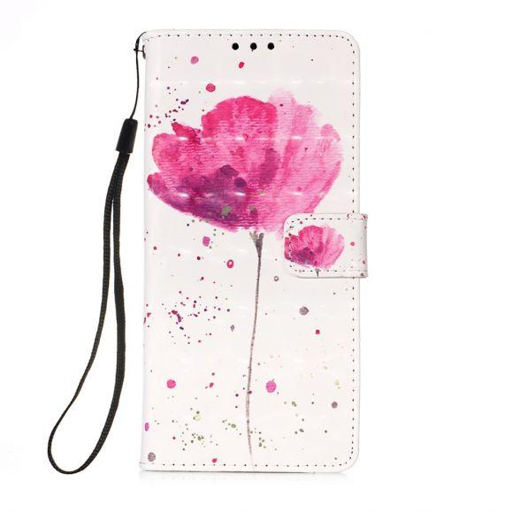 Housse Samsung Galaxy A72 5G / 4G Fleur Rose