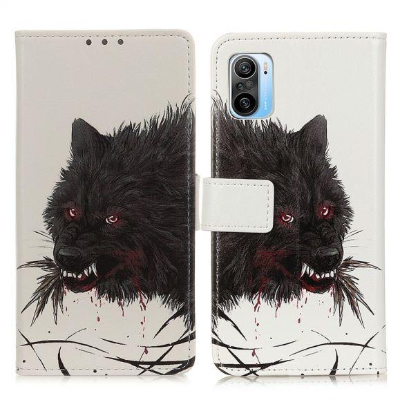 Housse Xiaomi Mi 11i / Poco F3 Loup noir