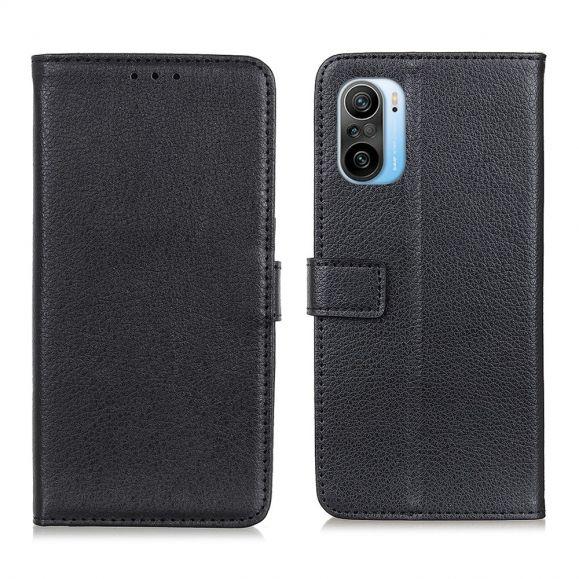 Housse Xiaomi Mi 11i / Poco F3 style cuir effet peau de litchi