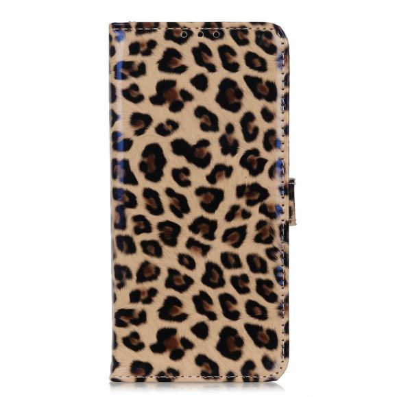 Housse Samsung Galaxy A52 5G Simili Cuir Style Léopard