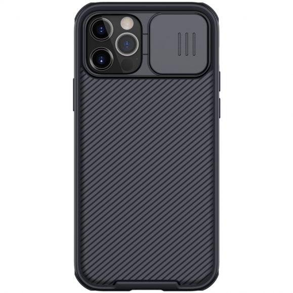 Coque iPhone 12 / 12 Pro MagSafe avec cache objectif arrière