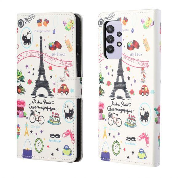 Housse Samsung Galaxy A32 4G J'adore Paris