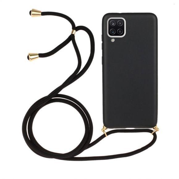 Coque Samsung Galaxy A12 avec cordon bandoulière