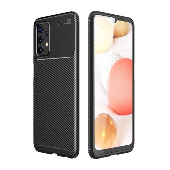 Coque style fibre de carbone pour Samsung Galaxy A32 4G