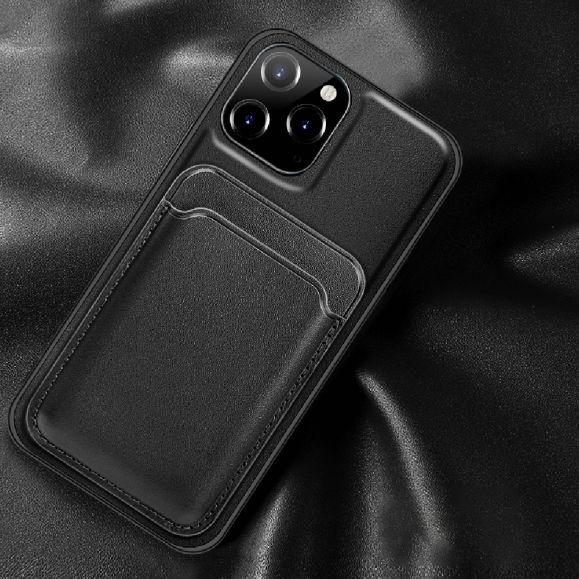 Coque iPhone 12 Pro Max YALAN Series avec porte carte magnétique