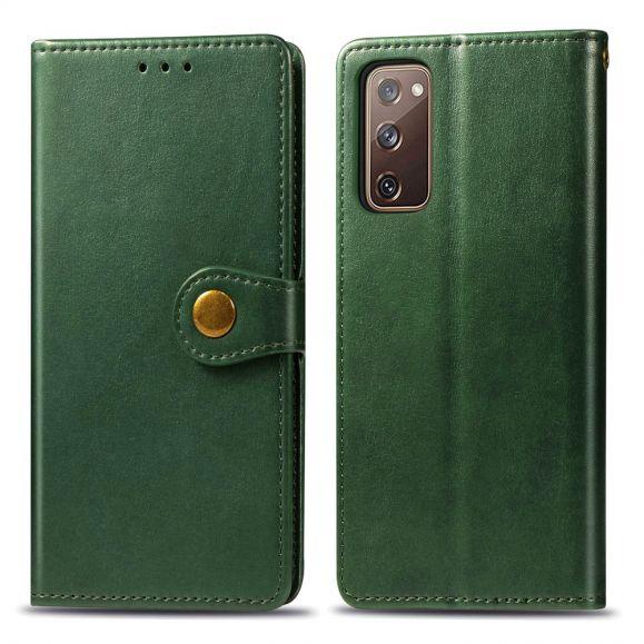 Housse Samsung Galaxy S20 FE Indila Simili Cuir