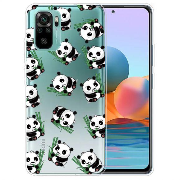 Coque Xiaomi Redmi Note 10 Happy Pandas