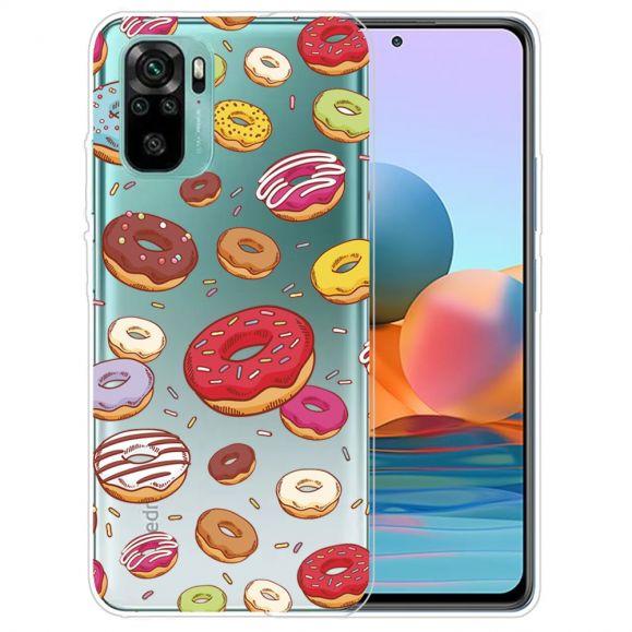 Coque Xiaomi Redmi Note 10 multiples donuts