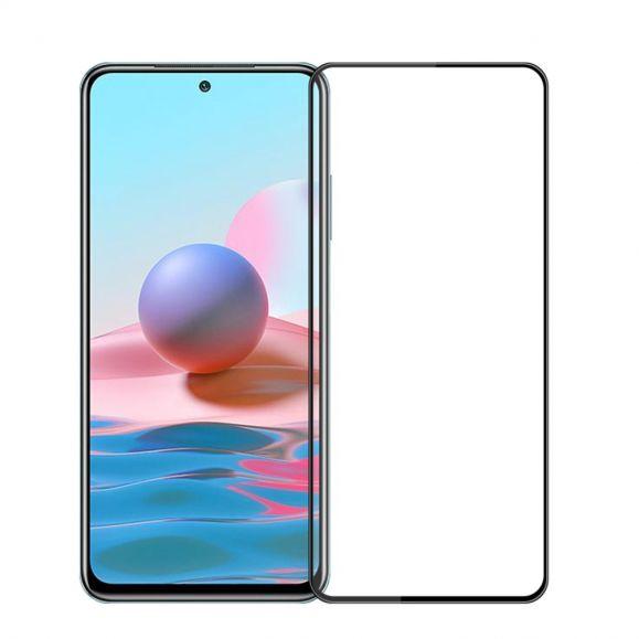 Protection d'écran Xiaomi Redmi Note 10 / Note 10S en verre trempé full size