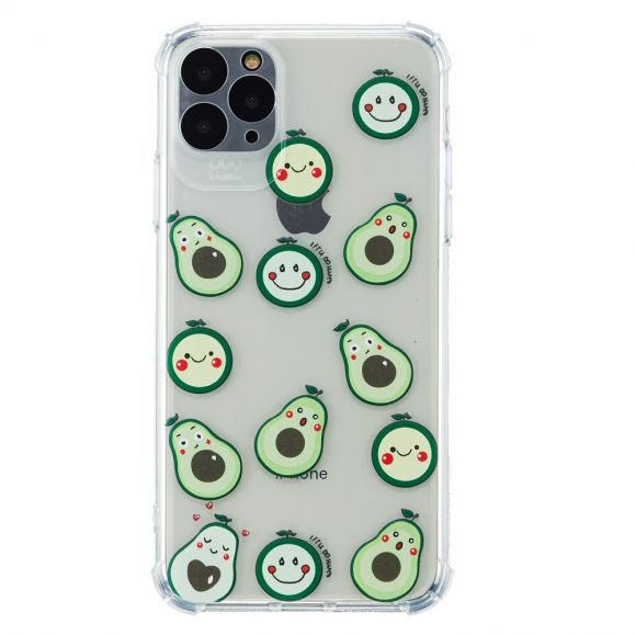 Coque iPhone 12 Pro Avocat Kawaii