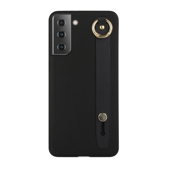 Samsung Galaxy S21 5G - Coque Strap en silicone