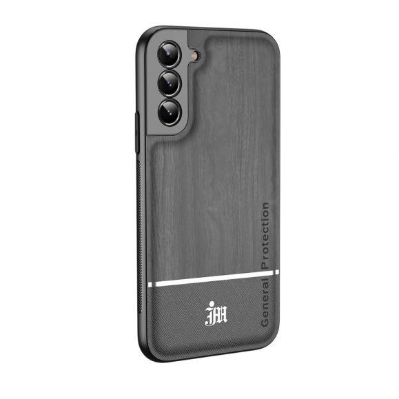 Samsung Galaxy S21 5G - Coque Chic style bois