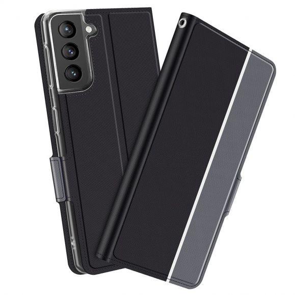 Samsung Galaxy S21 5G - Housse Victoria style cuir
