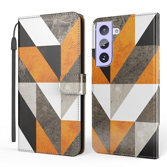 Étui Samsung Galaxy S21 Plus 5G marbre géométrique - M1