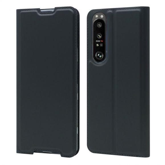 Housse Sony Xperia 1 III business imitation cuir