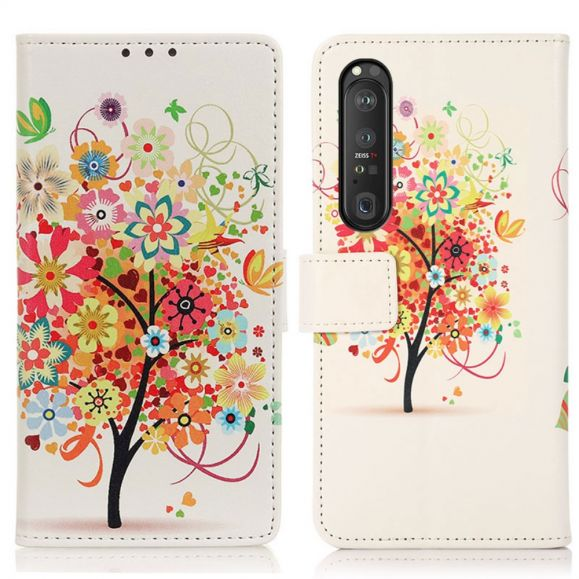 Housse Sony Xperia 1 III Arbre à fleurs
