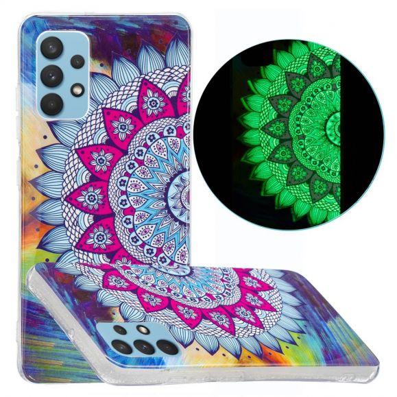 Coque Samsung Galaxy A32 4G Luminous Mandala Coloré