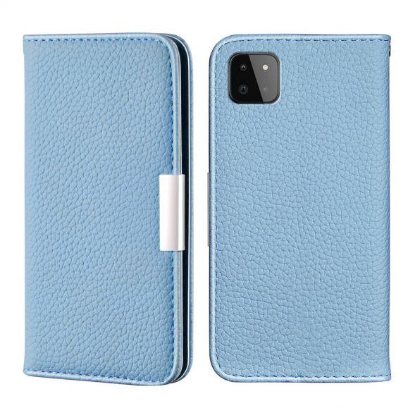Housse Samsung Galaxy A22 5G Flip Simili Cuir Grainé