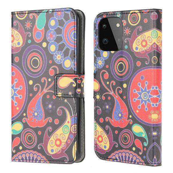 Housse Samsung Galaxy A22 5G paisley fleur