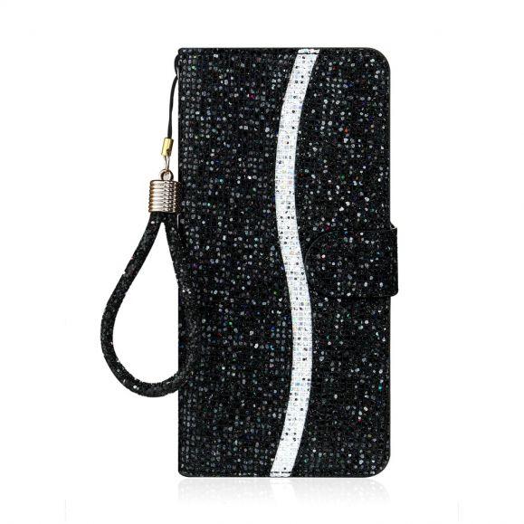 Housse Samsung Galaxy S21 Ultra 5G Glitter Porte Cartes