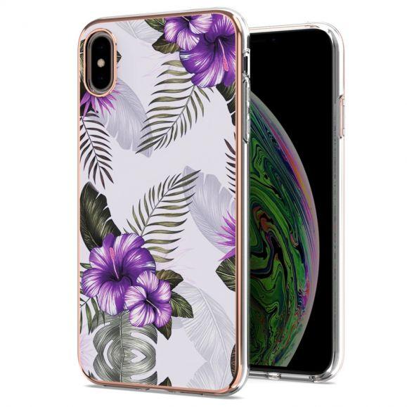 Coque iPhone XS Max Fleurs Exotiques