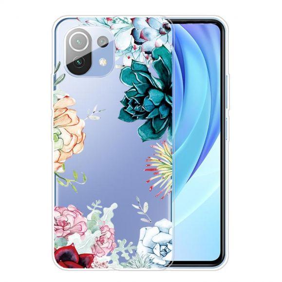 Coque Xiaomi Mi 11 variété de fleurs