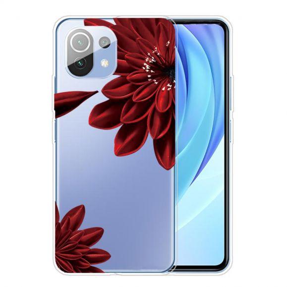 Coque Xiaomi Mi 11 Red Flower