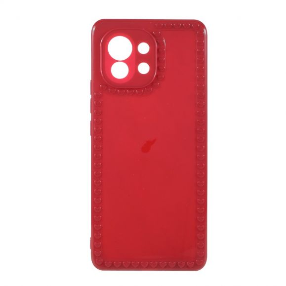 Coque Xiaomi Mi 11 Silicone Coeurs