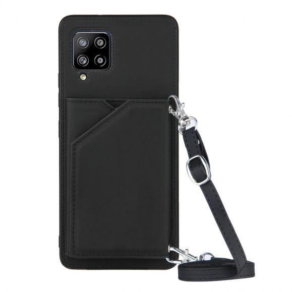 Coque Samsung Galaxy A42 5G AUDE Lanière multi compartiments