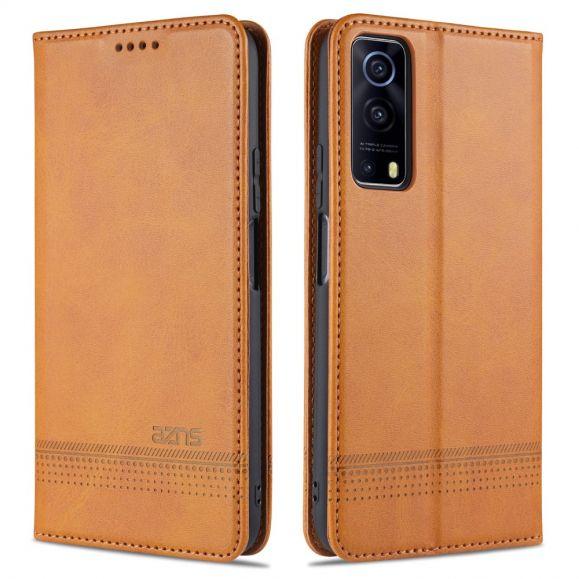 Étui portefeuille Vivo Y72 5G AZNS simili cuir