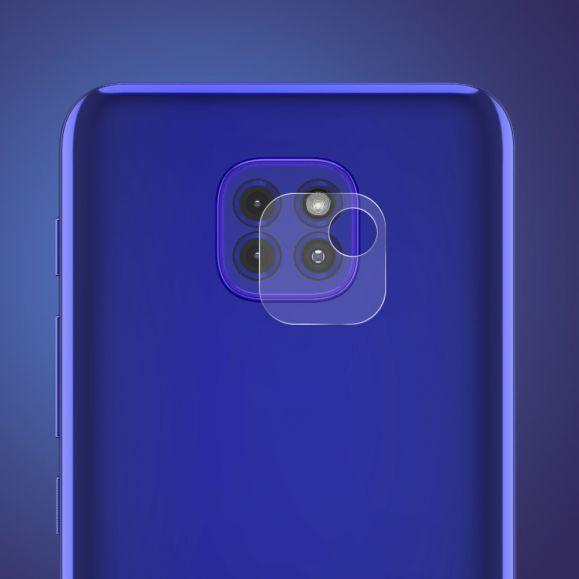 Verre Trempé pour lentille du Motorola Moto G9 Play (2 pièces)
