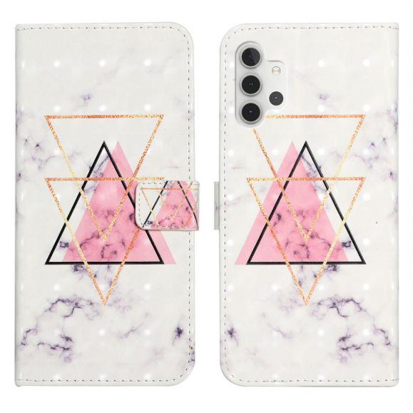 Housse Samsung Galaxy A32 5G motif triangles
