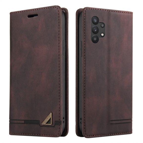 Housse Samsung Galaxy A32 5G GQ.UTROBE simili cuir rétro