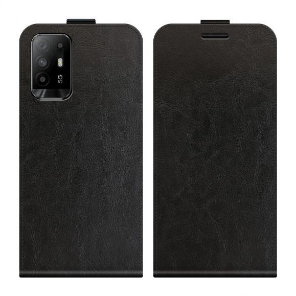 Housse Oppo A94 5G simili cuir avec rabat verticale