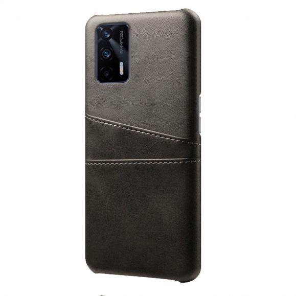 Coque Realme GT 5G Mélodie effet cuir porte cartes