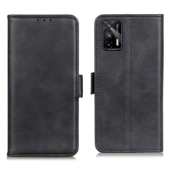 Étui portefeuille Realme GT 5G revêtement effet cuir mat