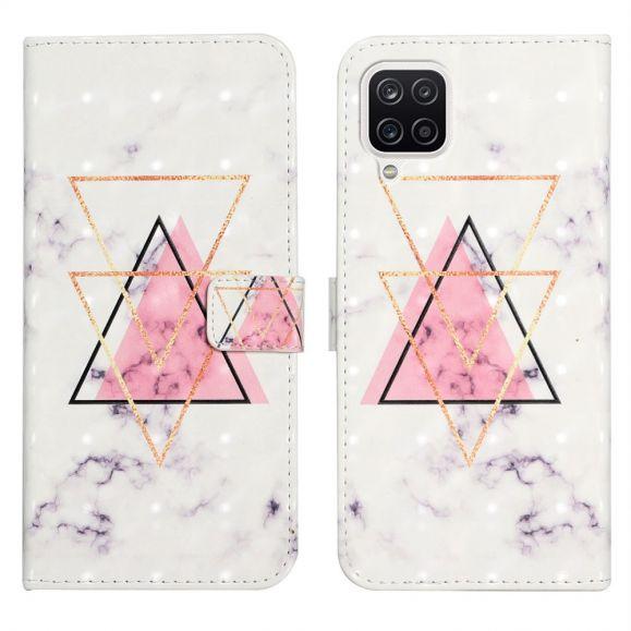 Housse Samsung Galaxy A22 4G motif triangles