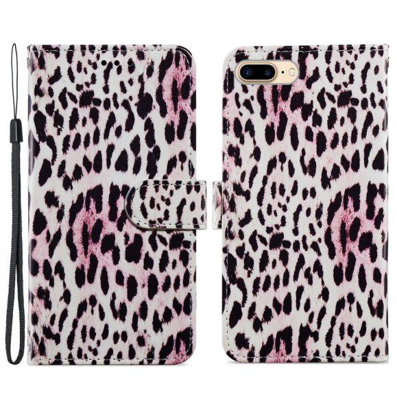 Housse iPhone 8 Plus / 7 Plus Motif Leopard