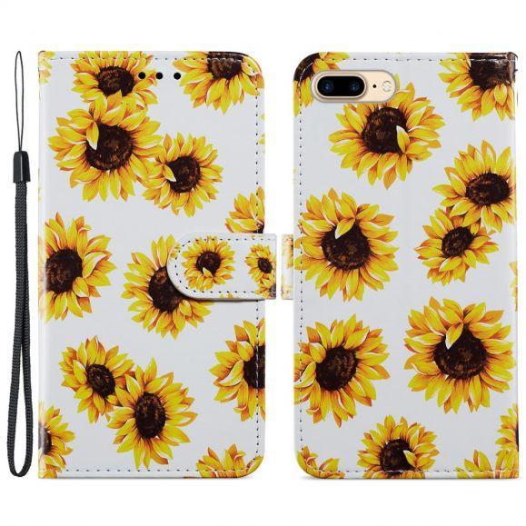 Housse iPhone 8 Plus / 7 Plus Tournesol Fleur