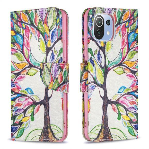 Housse Xiaomi Mi 11 Lite / Lite 5G dessin arbre