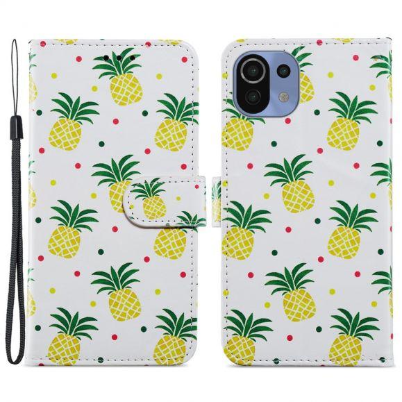 Housse Xiaomi Mi 11 Lite / Lite 5G Ananas