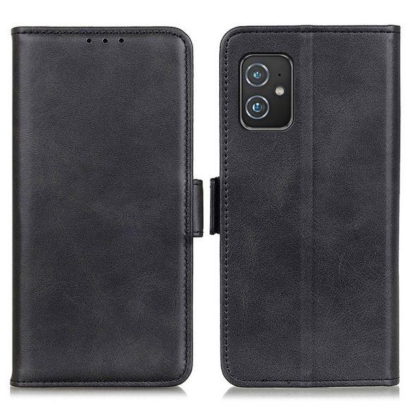 Étui Asus Zenfone 8 portefeuille simili cuir mat