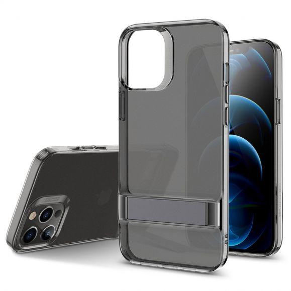 Coque iPhone 12 / 12 Pro ESR transparent avec support métal