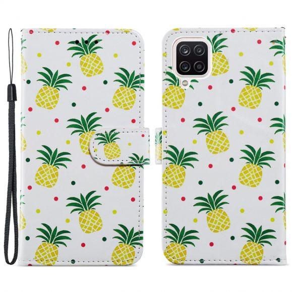 Housse Samsung Galaxy A12 Ananas