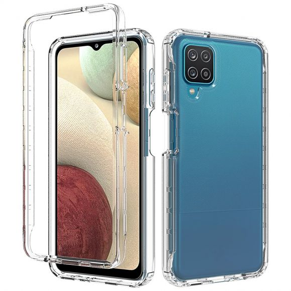 Coque Bumper Samsung Galaxy A12 / M12 Antichoc transparent